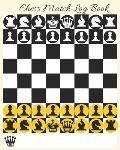 Chess Match Log Book: Record Moves, Write Analysis, and Draw Key Positions, Scorebook for Up to 51 Games of Chess
