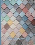 Pastel Colored Ceramic Tiles: Home Inventory Notebook