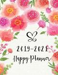 Happy Planner 2019-2021: Monthly Planner 36 Months Calendar Monthly Schedule Organizer Three Year Journal