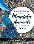 Mandala Animals Coloring Book: Adult Coloring book
