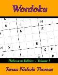 Wordoku Halloween Edition - Volume 1