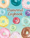 Password Logbook: Password Keeper With Alphabet Tabs V1