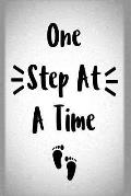 One Step at a Time: Undated 52 Week Planner and Gratitude Journal