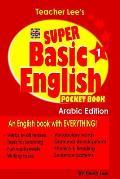 Teacher Lee's Super Basic English 1 Pocket Book - Arabic Edition