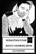 Sebastian Stan Adult Coloring Book: Winter Solder from Marvel Universe and Sex Symbol, Hot Model and Pop Icon Inspired Adult Coloring Book