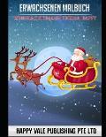 Erwachsenen Malbuch: Weihnachtsmann Thema