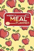 Weekly Meal Planner: Track and Plan Your Meals 52 Week Food Planner, Diary, Log, Journal, Calendar Meal Prep and Planning Grocery List.