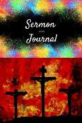 Sermon Notes Journal: Inspirational Sermon Notebook: For Prayer, Reflection and Daily Quiet Time. Organize Your Worship Notes.