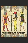 Ancient Egypt Planner 2019: Week to View Personal Planner in a Handy 6 X 9 Size with an Egyptian Design Cover.