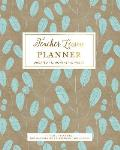 Teacher Lesson Planner, Undated 12 Months 52 Weeks for Lesson Planning, Time Management & Classroom Organization: Classic Traditional Leaf Pattern Tea