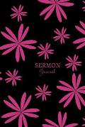 Sermon Journal: A 3 Month Guide of Worship Tool