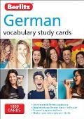 Berlitz Language German Study Cards