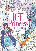 Ice Princess Colouring Book