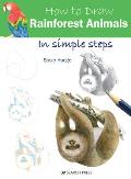 How to Draw Rainforest Animals in Simple Steps