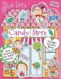 Great Fairy Candy Store Sticker Activity Book