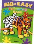 Big and Easy Coloring Book - Tiger: Big Pictures, Bold Outlines, Perfect for Children Just Start