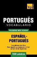 Vocabulario Espa?ol-Portugu?s - 7000 Palabras M?s Usadas