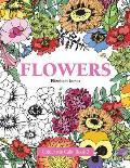 Colour Me Calm Book 2: Flowers