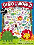 Puffy Stickers Dino World