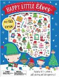 Happy Little Elves [With Puffy Stickers]