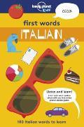 First Words: Italian: 100 Italian Words to Learn