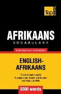 Afrikaans Vocabulary for English Speakers - 9000 Words