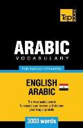 Egyptian Arabic vocabulary for English speakers - 3000 words