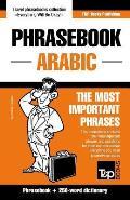 English-Arabic phrasebook and 250-word mini dictionary
