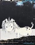 2019 Weekly Planner: Graffiti Bucktooth Unicorn Calendar with Goal-Setting Section, 8.5x11