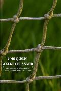 2019 & 2020 Weekly Planner Set Goals & Strategies to Win Over the Next Two Years: Day Planning Agenda Notebook for Gaining Success, Tracking Progress