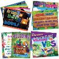 Vacation Bible School (Vbs) 2021 Discovery on Adventure Island Decorating Poster Pak: Quest for God's Great Light