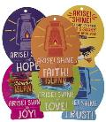 Vacation Bible School (Vbs) 2021 Discovery on Adventure Island Decorating Mobiles (Pkg of 6): Quest for God's Great Light