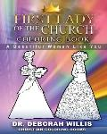First Lady Of The Church Coloring Book: A Beautiful Women Like You