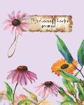 Medicinal Herbs Journal: Collect, Press, Sketch, Takes Notes