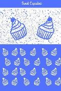 Sweet Cupcakes: 6x9 Blank Lined Journal