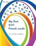 My first 500 French words - I learn French vocabulary