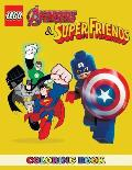 Lego Avengers and Superfriends Coloring Book: 2 in 1 Coloring Book for Kids and Adults, Activity Book, Great Starter Book for Children with Fun, Easy,