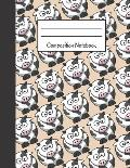 Composition Notebook: Large Cow Notebook to Write in 120 Page (8.5 X 11)