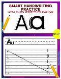 Smart Handwriting Practice: letter tracing workbook for beginners