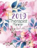 2019 Therapist Planner 52 Week: Time Management 52 Week Monday to Sunday 8am to 9pm Hourly Appointment Book Contact Names, Birthday, Yearly Goals