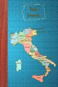 Italy Journal: Blank Italy Travel Diary to Write in for Italy Lovers (6x9, 110 Pages)
