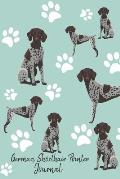 German Shorthair Pointer Journal: Cute Dog Breed Journal Lined Paper
