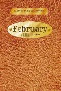 12 Months of Gratitude: February Journal For Him