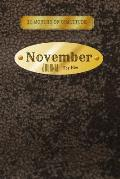 12 Months of Gratitude: November Journal For Him