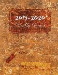 2019-2020 Monthly Planner: Calander Planner 2019-2020 for Two Year - Monthly Calendar Planner 24 Months from Jan 2019 to Dec 2020 + Yearly and We