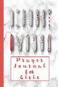 Prayer Journal for Girls: 6 X 9 Prayer and Art Journal to Explore Gods Word During a Sermon or at Sunday School - Faithful Feathers