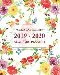 2019-2020 Academic Planner Weekly and Monthly: July 2019-June 2020, Monthly Calendar and Day Planner of Academic Year
