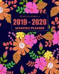 2019-2020 Academic Planner Weekly and Monthly: Monthly Calendar and Academic Year July 2019-June 2020 College Student Schedule Organizer