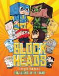 Cutting Skills Activities (Block Heads - The Story of S-1448): Each Block Heads paper crafts book for kids comes with 3 specially selected Block Head