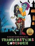 Bestes Geheimwort R?tselb?cher (Frankensteins Codebuch): Jason Frankenstein sucht seine Freundin Melisa. Hilf Jason anhand der mitgelieferten Karte, d